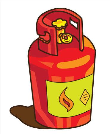 Gas tank Stock Vector - 14598694