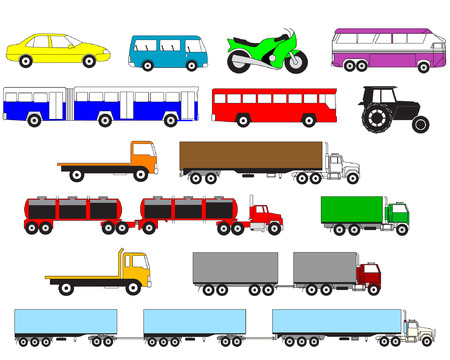 transport vehicle Stock Vector - 4020813