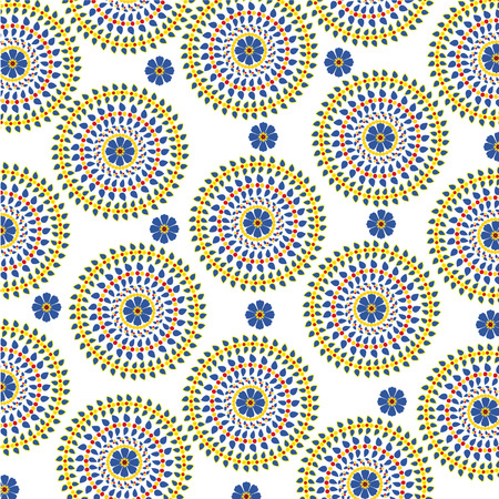 girlie: circle pattern