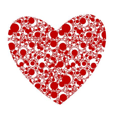folkart: heart vector