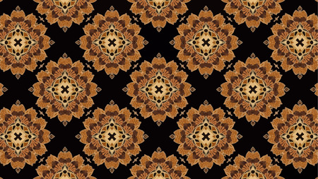 Vector Background of Batik Pattern , Batik Indonesian is a technique of wax-resist dyeing applied to whole cloth, or cloth made using this technique originated from Indonesia Illustration