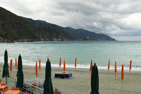 monterosso: Seaside view from ashore, Monterosso al Mare