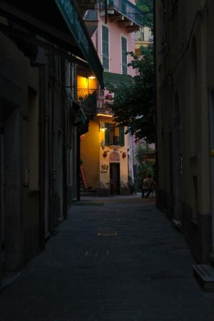 monterosso: Evening in Monterosso, Cinque Terre Stock Photo