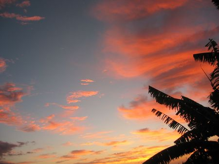 Sunset in Mauritius Stock Photo - 3682262