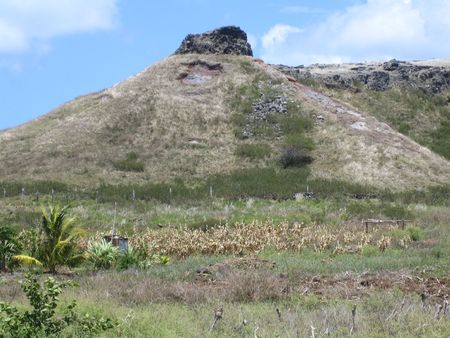 Extinct volcano in Rodrigues Stock Photo - 3778664