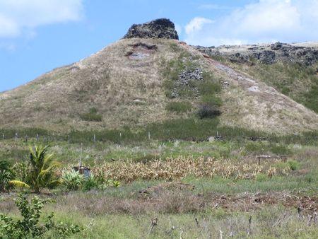 Extinct volcano in Rodrigues Stock Photo - 3778664