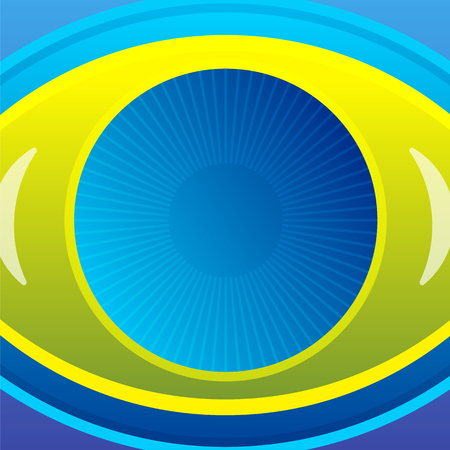 eye icon: Abstract eye icon background. Vector template.