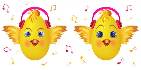 Icones D Emoticones Visage Emoji Smiley Avec Un Casque Symbole Musical Vectoriel Sourire Emoticone Emoticone De Musique Avec Le Vecteur De Casque Signes De Notes De Musique Illustration Vectorielle Clip Art Libres De