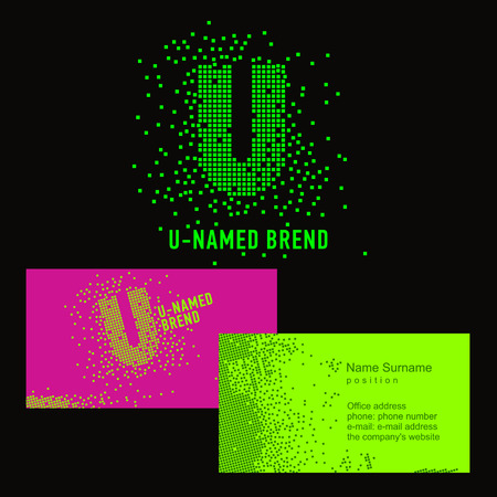 Template u brand name company corporate identity for the company template u brand name company corporate identity for the company on the letter u flashek Gallery