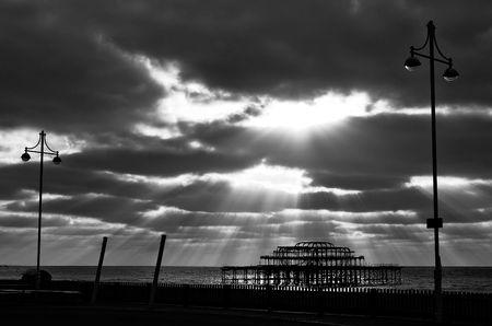 WEST PIER en Brighton & Hove, east sussex, uk