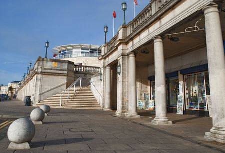 part of brighton´s seafront, east sussex, uk Stock Photo