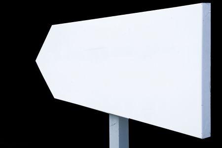 white direction Stock Photo