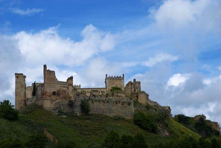 Medieval castle in Escalona, Toledo, spain