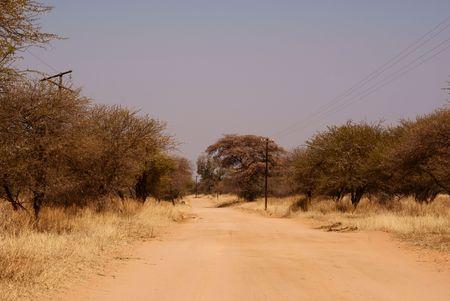 Mabilingwe Road. Stock Photo - 5576375