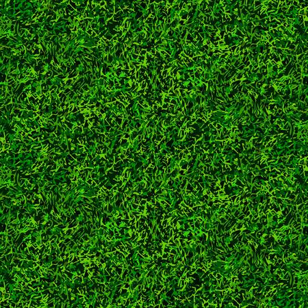 トップ ビュー緑サッカー草のテクスチャ背景