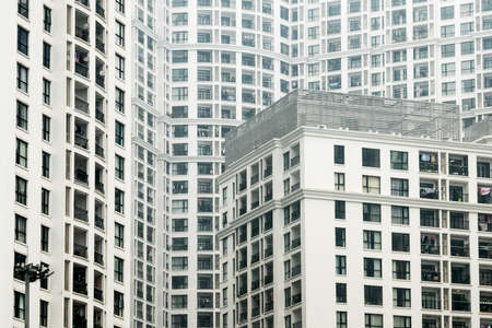 Royal City Apartments Hanoi Vietnam 12/07/2017 Modern high rise luxury apartment