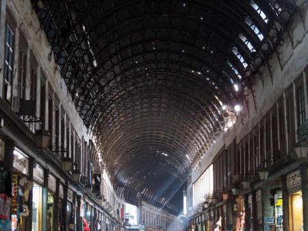 The Al-Hamidiyah Souq, Damascus Syria 04/12/2009 the main market in the Old City