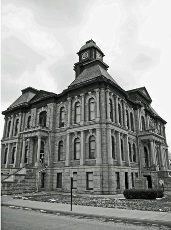 holmes: Holmes County Courthouse Stock Photo