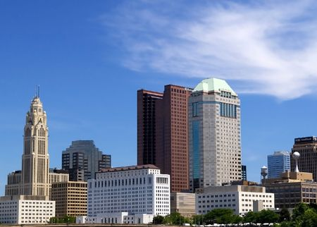 buckeye: Downtown Columbus Skyline