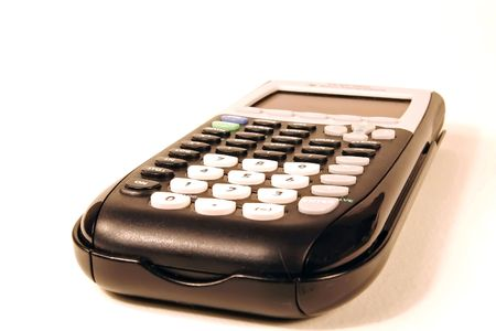 graphing: Black graphing calculator