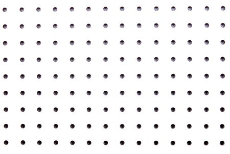 pegs: White pegboard