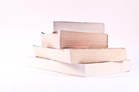paperback: Pila di quattro libri in brossura