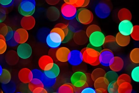 Bright abstract primary colored lights background Stok Fotoğraf