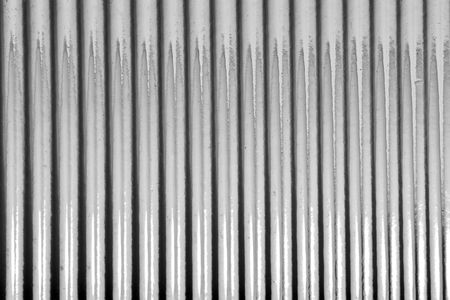 Linear shaded steel background Stock Photo