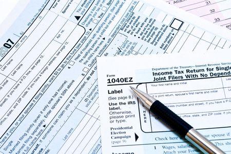 podatnika: IRS 1040EZ formy opodatkowania dochodów z piórem