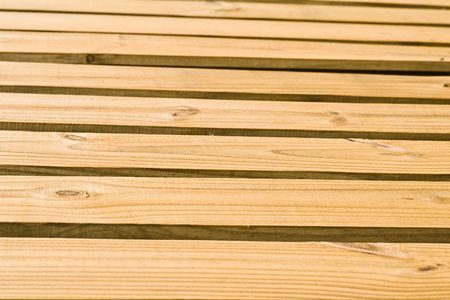 Tan horizontal wood planks