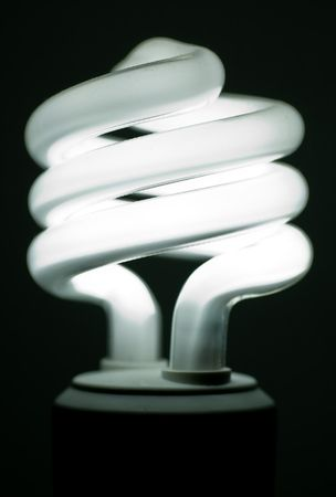 Compact flurorescent lightbulb (CFL)