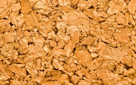 Neutral tan cork background