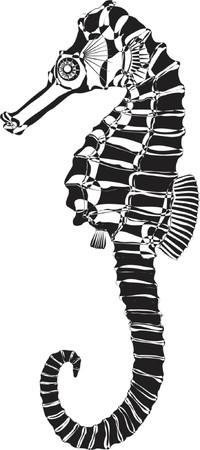 иллюстрировать: морской конек