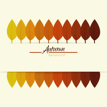 fall, autumn background with colorful leaves