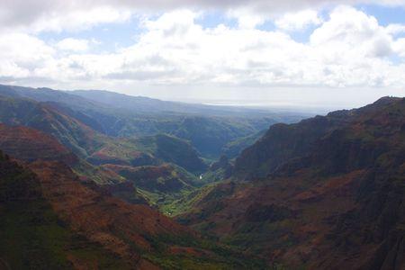 カウアイ島、ハワイでワイメア峡谷 写真素材 - 2489719