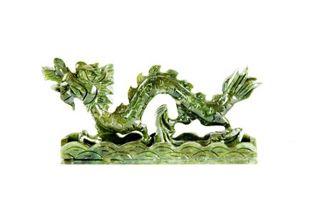 jade: Chinese jade dragon