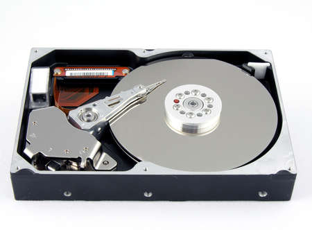 The inside of a standard IDE Hard Drive