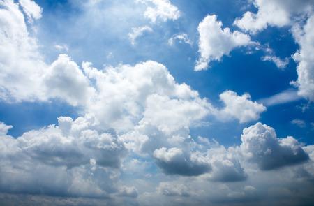 sky clouds: Sky nubes (2) Foto de archivo