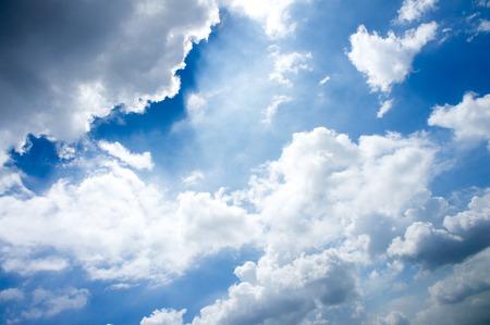 sky clouds: Sky nubes (3) Foto de archivo