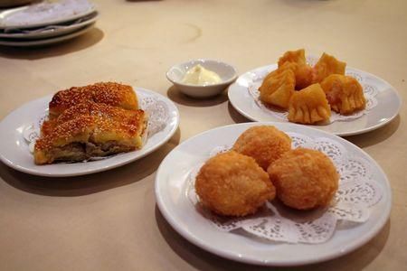 dim: Chinese dim sum, fried