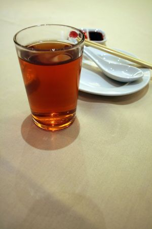 Chinese tea, in a restaurant setting Stock Photo - 383576