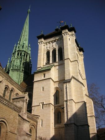 peters: St. Peters Cathedral in Geneva, Switzerland
