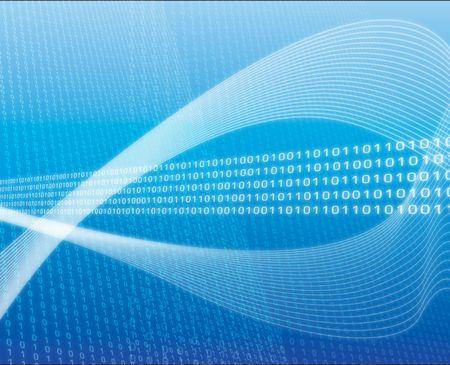 Illustration of data transfer