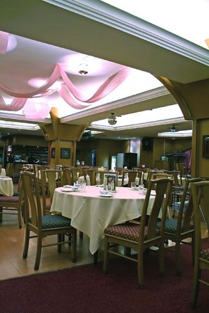 Interior of a chinese restaurant Stock Photo - 397811