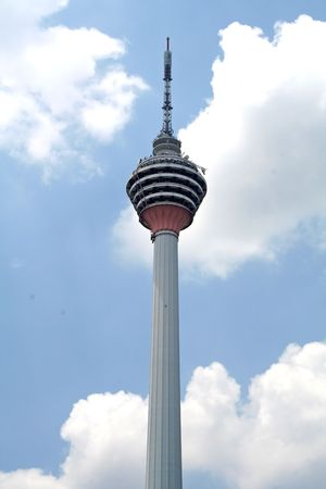 Telecoms tower- KL Tower, Malaysia Stock Photo - 405786