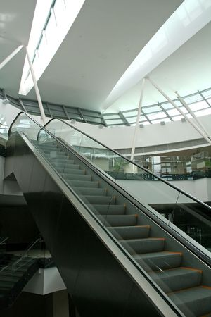 skylight: Escalator and skylight