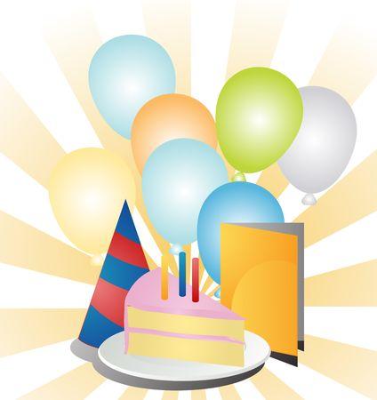 Festive birthday party Stock Photo - 1016148