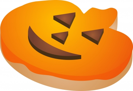 jackolantern: Halloween jackolantern Seasonal festive cookies with icing