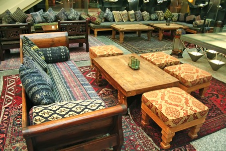 Arabic middle-eastern style interior design and furniture Stock Photo - 1573169