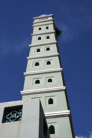spire: Malay islamic mosque architectural detail tower spire